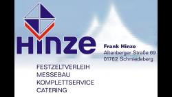 Hinze - Sponsor im Ski und Eisfasching Geising